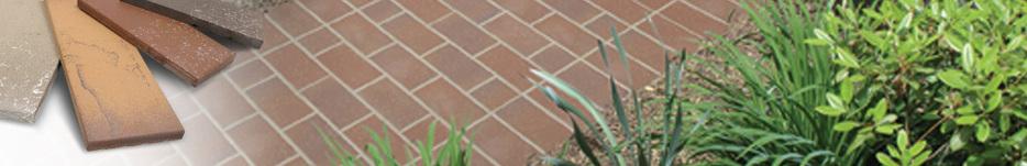 Outdoor Tile Walkway