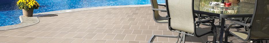 Pool surround tile